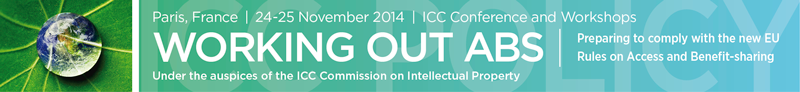 Working out ABS: ICC Conference on EU Regulation on Access and Benefit Sharing – 24-25 November, Paris, France