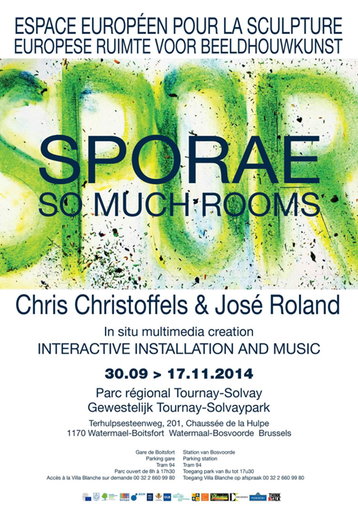 Exhibition Sporae. So much rooms